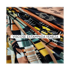 Viscose Estampada Veneza III
