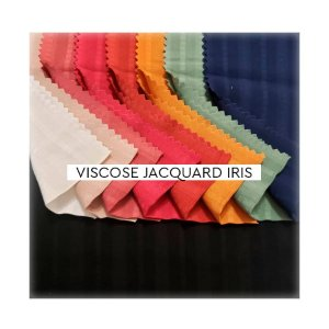 Viscose Jacquard Iris