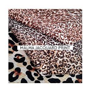Malha Jacquard Print