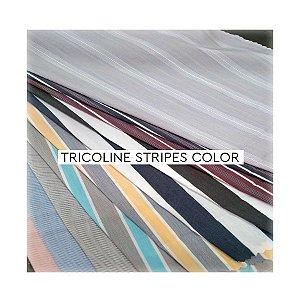 Tricoline Stripes Color