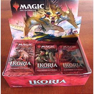 Magic - Booster Ikoria: Terra de Colossos - MTG