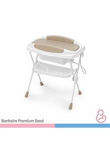 Banheira Bebê Plástica Premiun - Sand - Galzerano