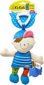 Móbile Chocalho e Mordedor - Baby Wayne para Carrinho - Ks Kids
