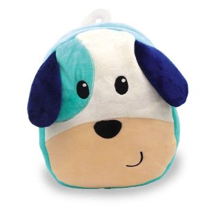 Mochila Infantil De Pelúcia - Cachorro Liro Azul - Unik Toys