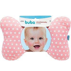 Almofada Baby para Cabeça - Rosa - Buba Baby
