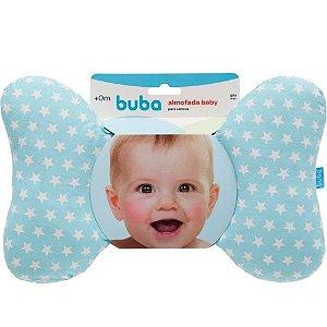 Almofada Baby para Cabeça - Azul - Buba Baby