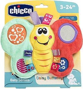 Chocalho Borboleta Feliz - Baby Senses - Colorido - Chicco