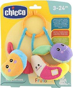 Chocalho Tutti Frutti - Baby Senses - Multicolorido - Chicco