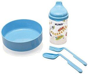 Kit Refeição - Azul - Kuka