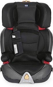 Cadeira para Auto Oasys 2-3 - Fixplus Evo 15 a 36 kg - Jet Black - Chicco