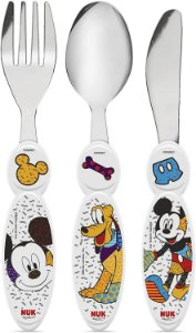 Talheres Inox Disney By Britto - Nuk