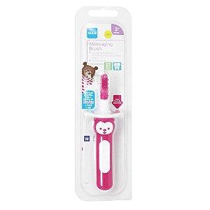 Escova Dental Massageadora - Massaging Brush Rosa - Mam