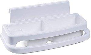 Saboneteira Millenia - Branco - Burigotto