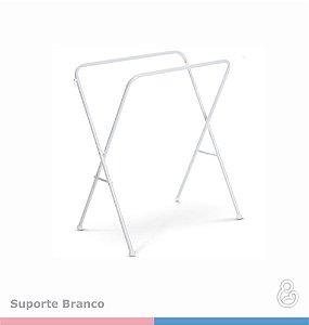 Suporte Banheira Luxo Rígida - Branco - Galzerano