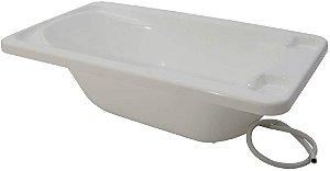 Banheira Avulsa Rígida Plastico - Branco - Galzerano