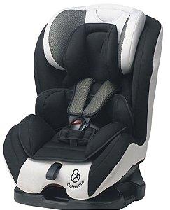 Cadeira para Auto Long Life - 0 a 36kg - Preto e Cinza - Galzerano