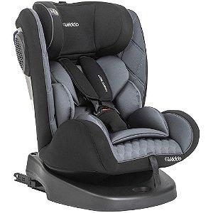 Cadeira para Auto Avanti 360° com Isofix - 0 a 36 kg - Preto e Cinza - Kiddo