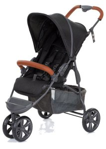 Carrinho Moving Light - Woven Black - Bebaby