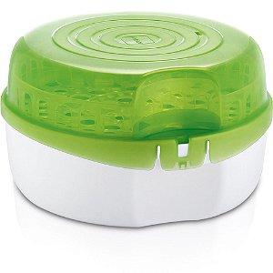 Esterilizador de Micro-ondas - Branco e Verde - Mam