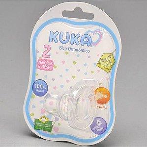 Bico de Mamadeira de Silicone - +6M - Kuka