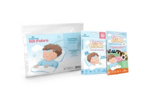 Kit Febre Termo Friends e Fever Friends - Babydeas