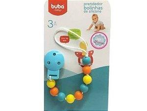 Prendedor de Chupeta - Bolinhas - Buba