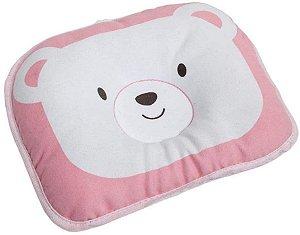 Travesseiro Urso - Rosa - Buba