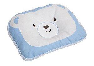 Travesseiro Urso - Azul - Buba