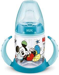 Copo de Transição 150 ml com Alça 6+m Mickey - Azul - Nuk