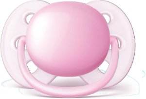 Chupeta Ultra Soft 0-6m - Rosa - Philips Avent