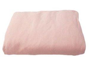 Lençol Elástico para Berço ou Mini Cama - Rosa - Coronelzinho