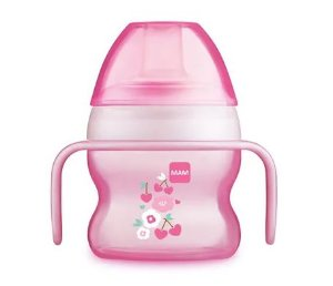 Copo Starter Cup +4m - Rosa - MAM