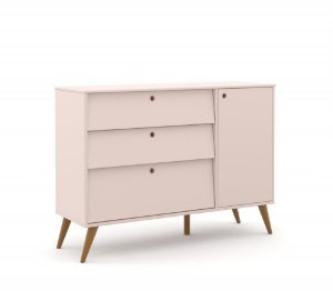 Cômoda Gold Eco Wood - Rose - Matic