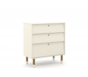 Gaveteiro Up Eco Wood - Off White - Matic