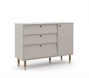 Cômoda Up Eco Wood - Cinza - Matic
