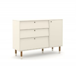 Cômoda Up Eco Wood - Off White - Matic