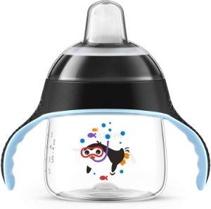 Copo Pinguim 200Ml - Preto - Philips Avent