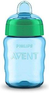 Copo Bico de Silicone - Azul - Philips Avent