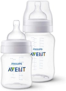 Kit 2 Mamadeiras Anti-Colic 125ml e 260ml - Philips Avent