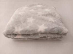 Manta Microfibra Encanto Baby Premium - Azul Estrelas - Ksatex