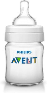 Mamadeira Anti-Colic 125 ml +0m - Transparente - Philips Avent