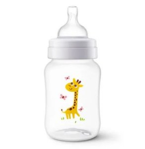 Mamadeira Anti-Colic 260ml +1m - Girafa - Philips Avent