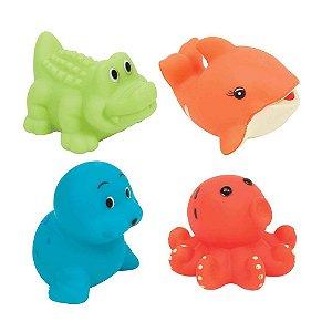 Bichinhos para Banho - Animais Aquáticos - Buba