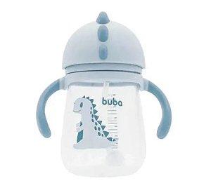 Copo Dino com Alça - Azul - Buba