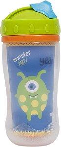 Copo com Tampa 320 Ml - Monster Party - Buba