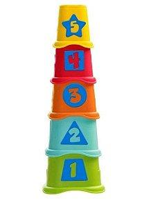 Copos dos Números - Colorido - Chicco