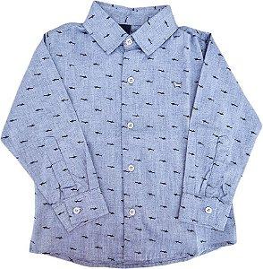 Camisa Infantil Masculina - Azul - 1+1