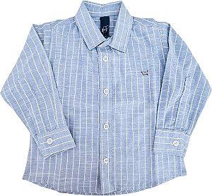 Camisa Infantil Masculina - Listras - 1+1