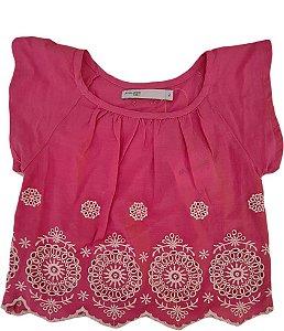 Blusa Infantil Feminina - Rosa - Malwee