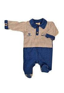 Macacão Infantil - Azul - Din Don